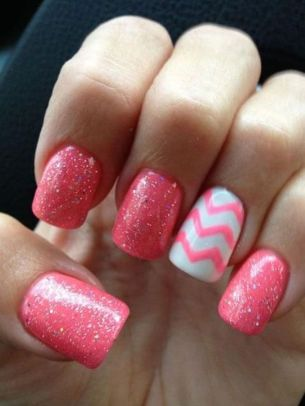 Cute and Easy Easter Nail Art Design Ideas 43