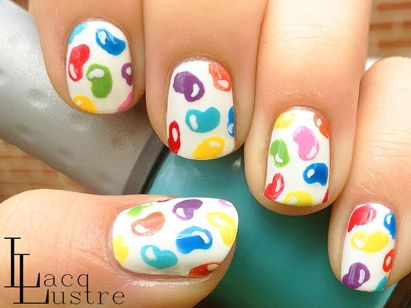 Cute and Easy Easter Nail Art Design Ideas 53