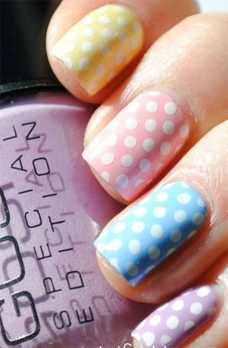 Cute and Easy Easter Nail Art Design Ideas 7