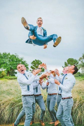 100+ Groomsmen Photos Poses Ideas You Can't Miss 111