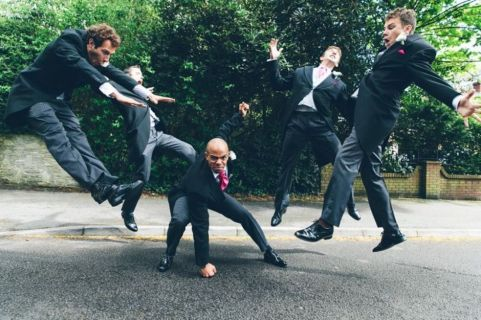 100+ Groomsmen Photos Poses Ideas You Can't Miss 113