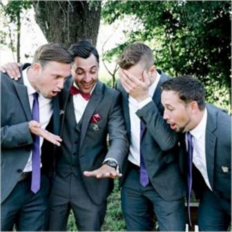 100+ Groomsmen Photos Poses Ideas You Can't Miss 55