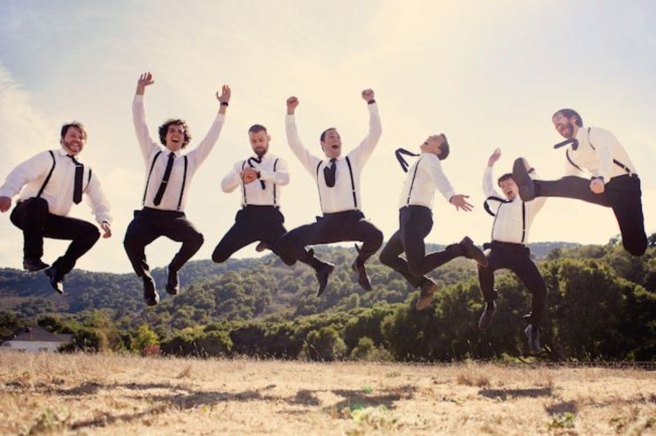 100+ Groomsmen Photos Poses Ideas You Can't Miss 73