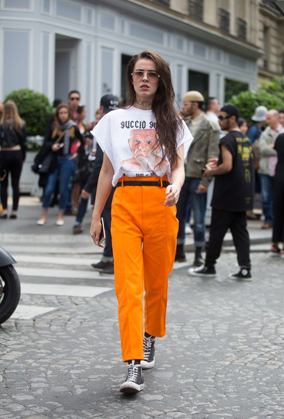 55 Orange Outfit Ideas That Make You Look Young and Fresh 31