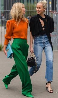 55 Orange Outfit Ideas That Make You Look Young and Fresh 39