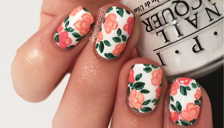 Floral Nails Design Ideas
