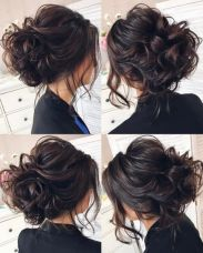simpe but classy bridal hair do 15
