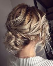 simpe but classy bridal hair do 17