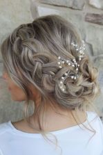 simpe but classy bridal hair do 3