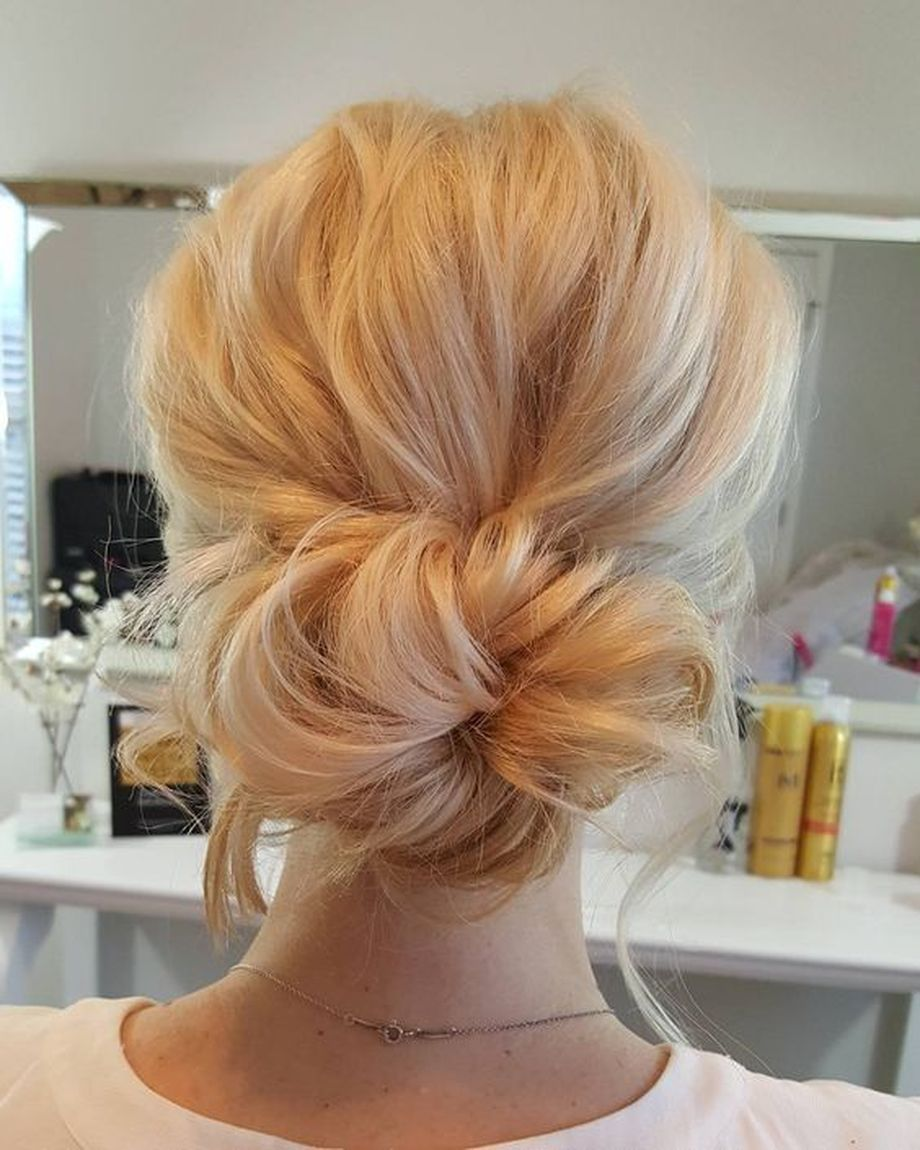 simpe but classy bridal hair do 6