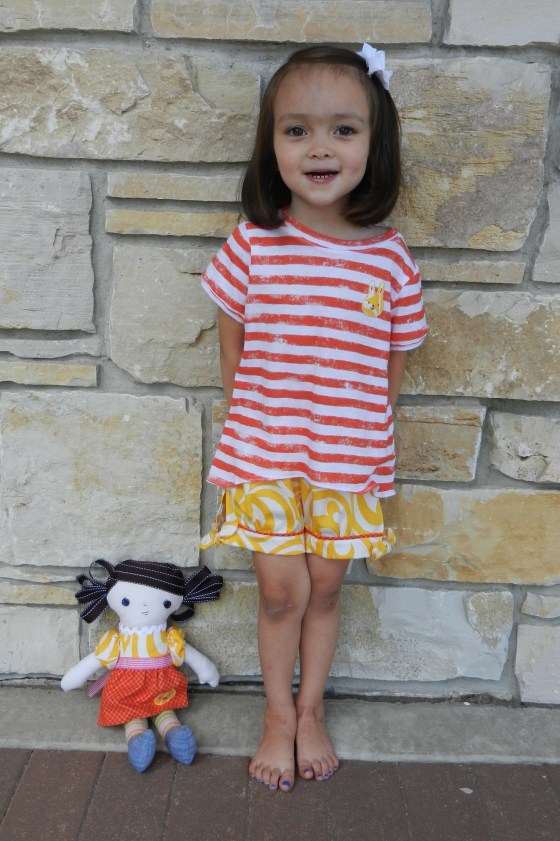 Sophia and Doll by Wall