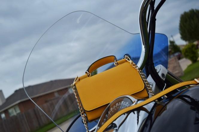 TJMaxx Yellow Bag