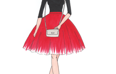 Lilly Rose Studio   Fashion Illustration   Luxury Visual Art Fashion Business Portrait  custom