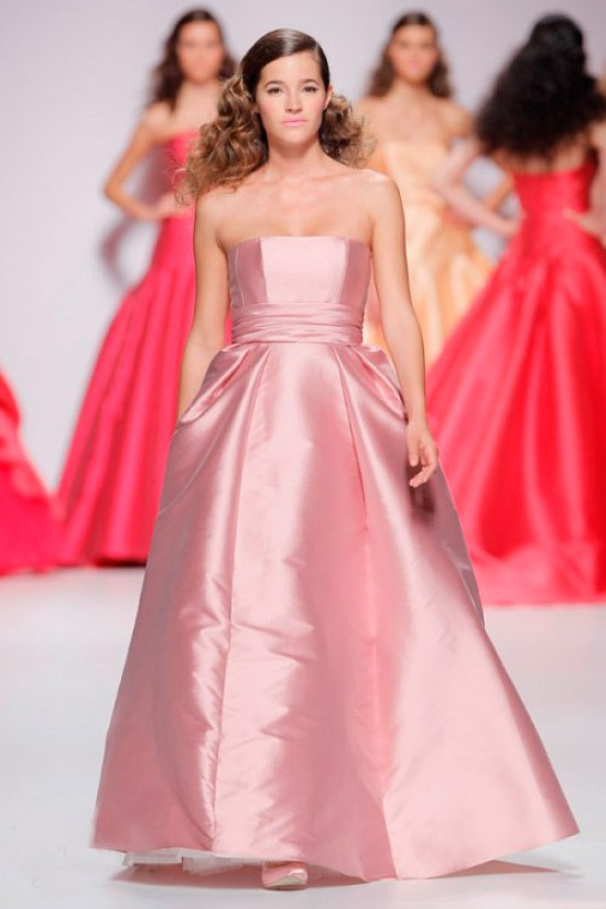 Pink Cymbeline Wedding Dress