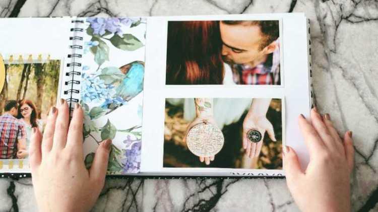 פוסט על עיצוב אלבום חתונה במגזין Fashion tails לובה שרגא