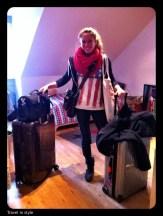 Stylistin Cora Marquis auf Reisen