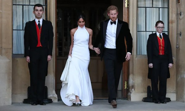 Meghan Markle's evening dress at the royal wedding & the ...