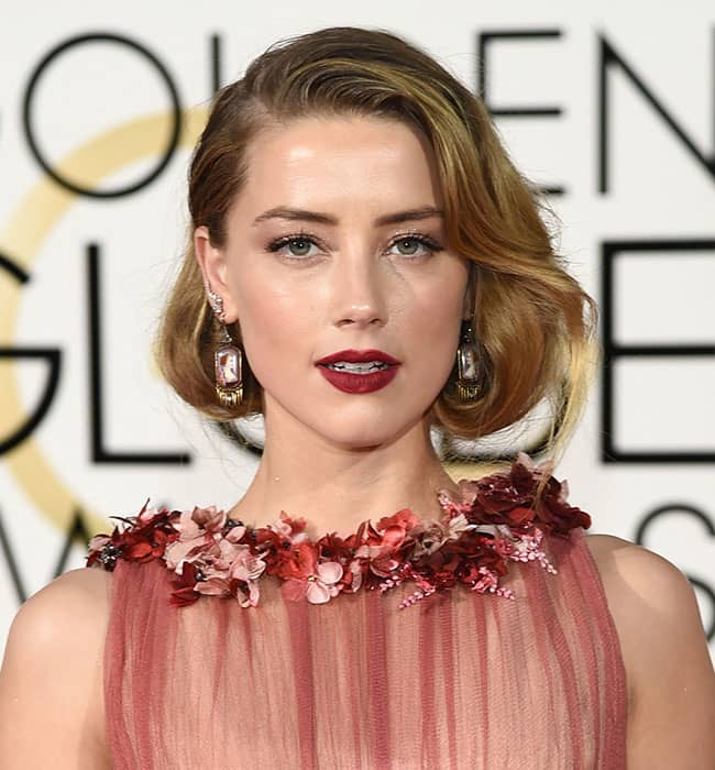 Red Lipstick Rules The Red Carpet At The 2016 Golden Globes
