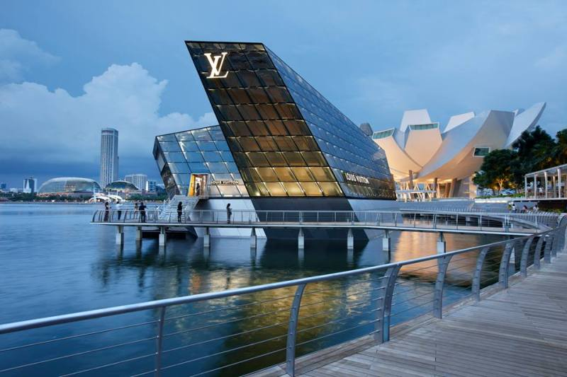 Mame Fashion Dictionary: Louis Vuitton Singapore Marina Bay Store