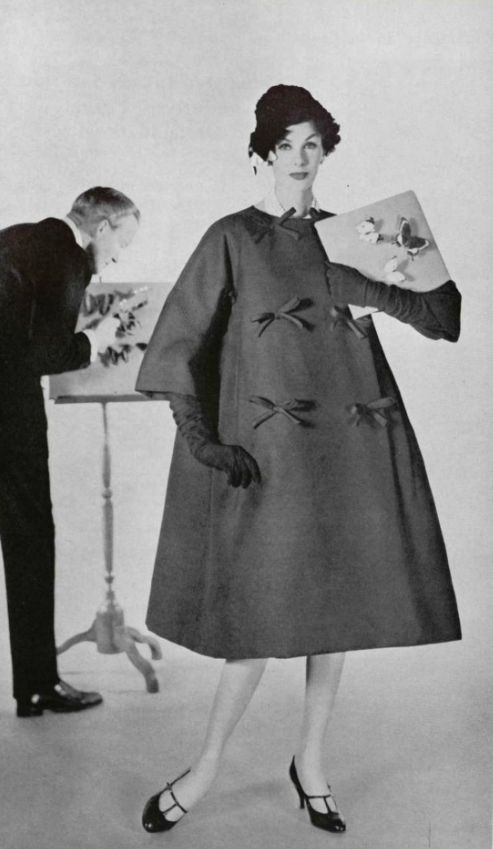 Mame Fashion Dictionary: Christian Dior Yves Saint Laurent 1958 Collection