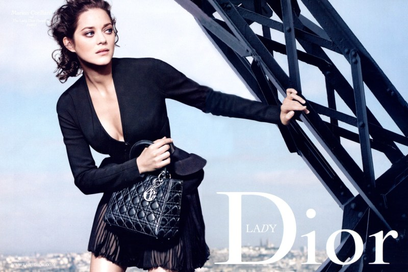 Mame Fashion Dictionary: Dior Marion Cotillard Lady Dior Campaign 2009
