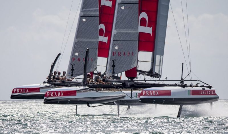 "Mame Fashion Dictionary: ""Luna Rossa"" the Prada Catamaran"