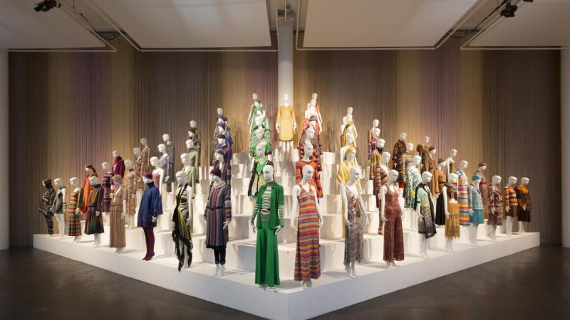 Mame Fashion Dictionary: Missoni Exhibition MISSION, ART, COLOUR at The Fashion and Textile Museum in London