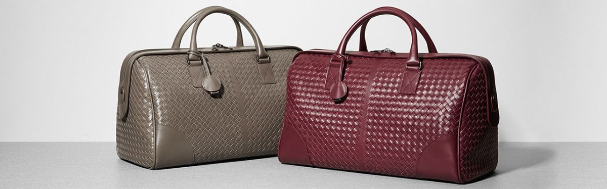 "Mame Fashion Dictionary: Bottega Veneta. Bags with the ""Intrecciato"" technique."