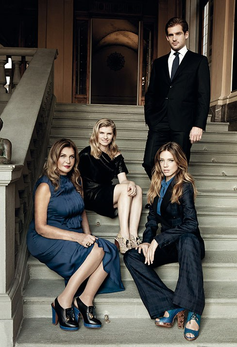 Mame Fashion Dictionary: Trussardi Family Portrait