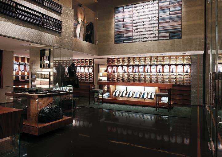 Mame Fashion Dictionary: Zegna Store in Milan on via Montenapoleone