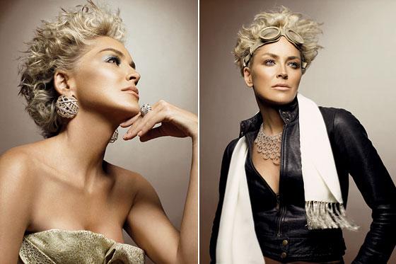 Damiani Sharon Stone Campaign