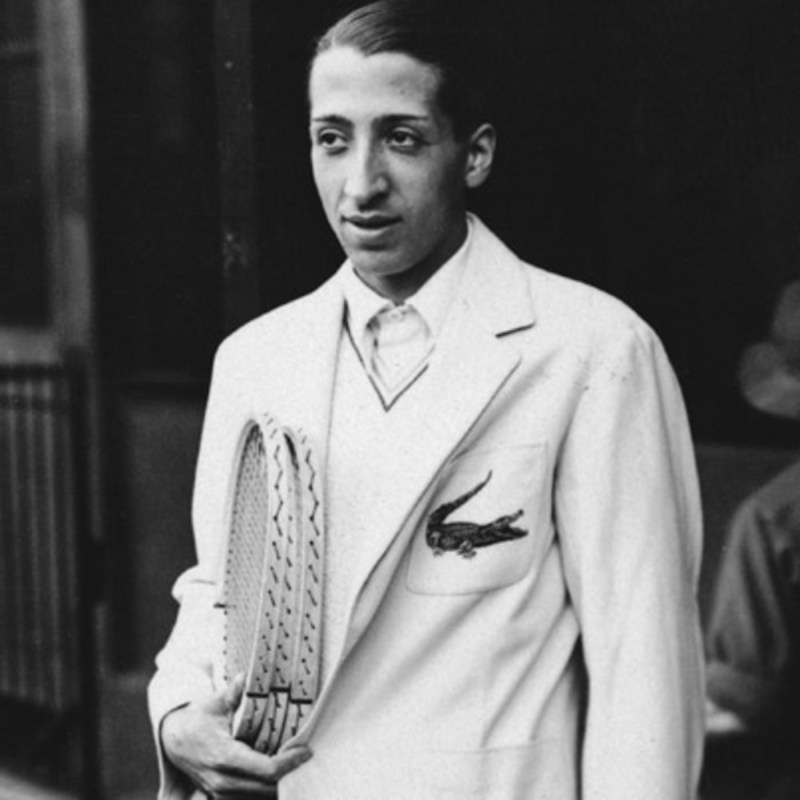 Founder Rene Lacoste