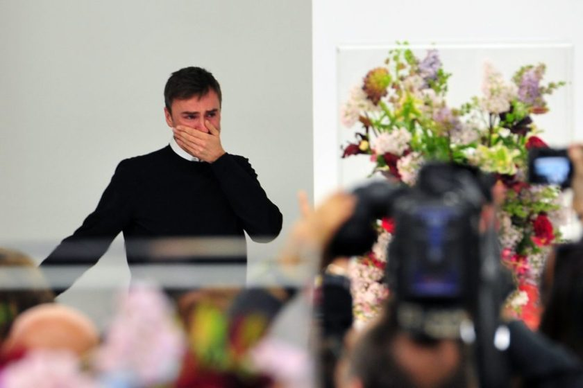 Mame Fashion Dictionary: Raf Simons Emotional at Last Jil Sanders Show