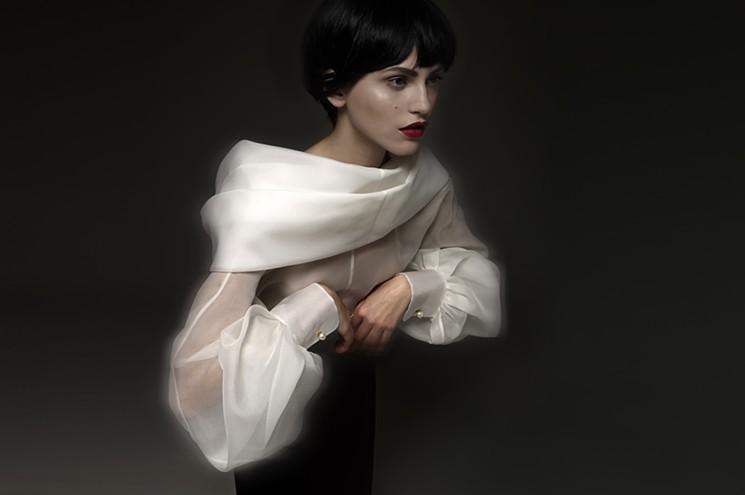 Gianfranco Ferre Phoenix Classic Glamour White Shirt