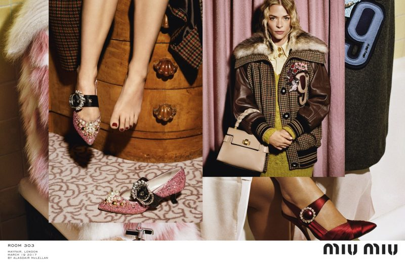 Mame Fashion Dictionary: Miu Miu Fall 2017 Advertising Campaign