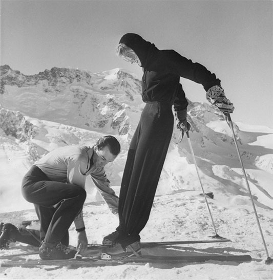 Emilio Pucci Improvising a Ski Outfit 1947