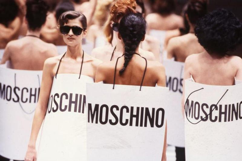 Moschino 1987 Fashion Show
