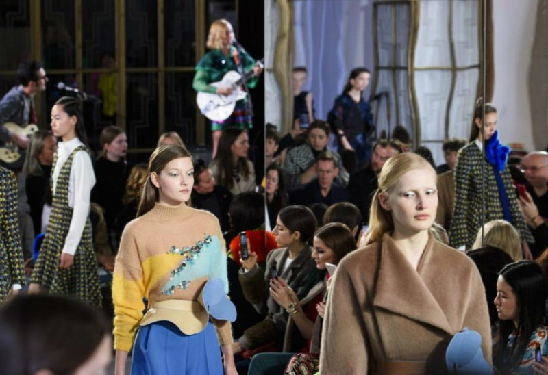 Delpozo The London Debut