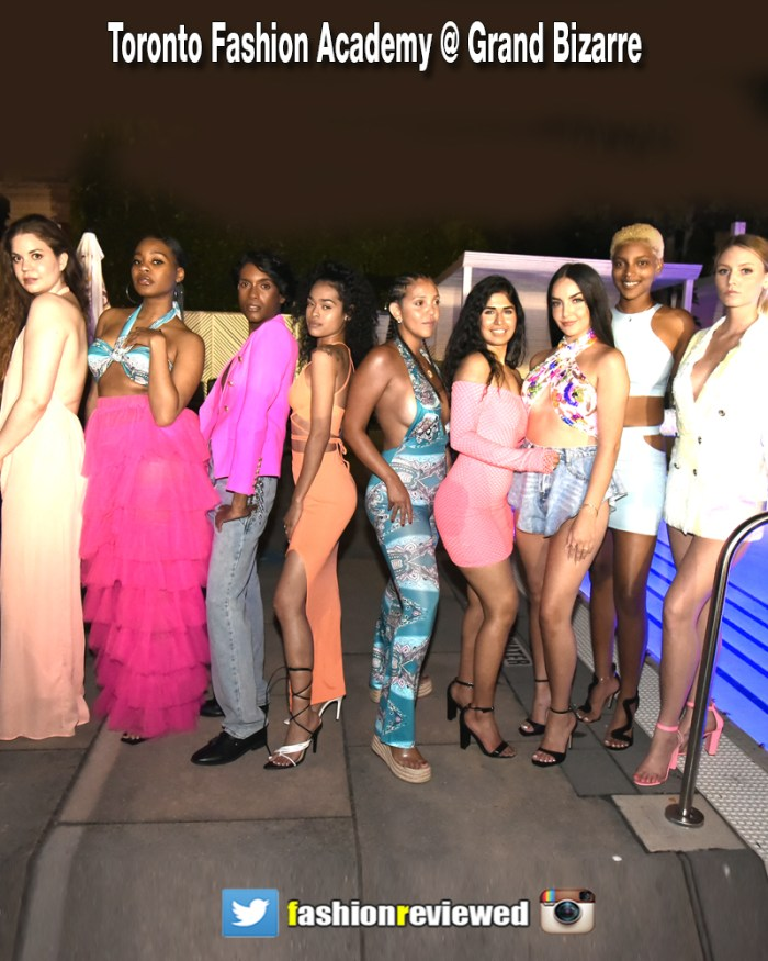 Toronto Fashion Academy Spotlights Moscato Pink
