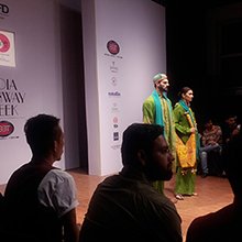 Fashion Show visit to India Runway Week
