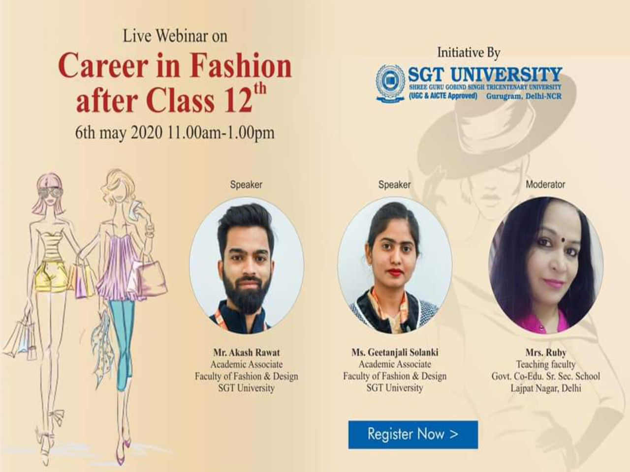CAREER IN FASHION AFTER CLASS 12TH