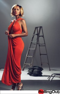 """Meagan Good SIZZLES On The Cover Of """"Rolling Out"""