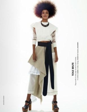 Malaika Firth - Elle France March 2015 Part 1