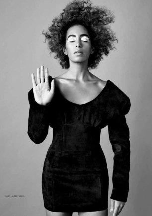 SOLANGE for Bust Magazine, Mar. 2017 1280