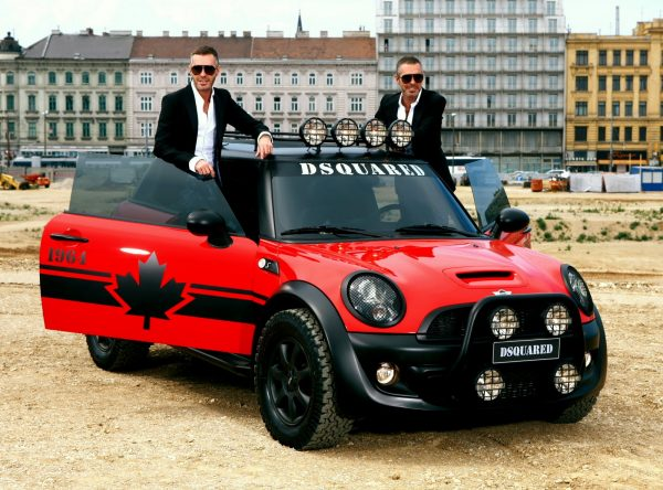Mini Cooper Red Mudder By DSquared