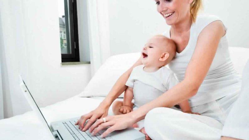 Где может заработать молодая мама?