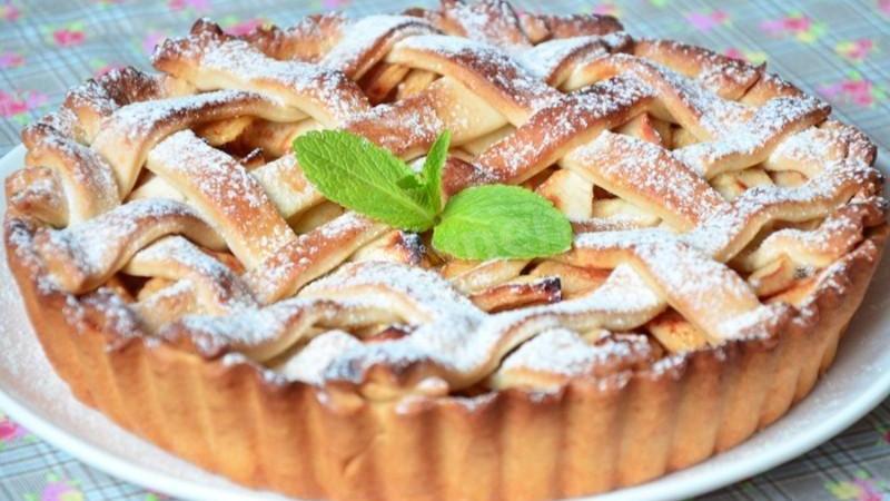 Яблочный пирог — рецепт