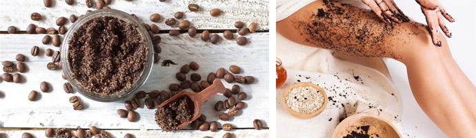Скраб от целлюлита с кофе — прекрасное средство от целлюлита