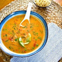 Make Ahead Monday: Slow Cooker Thai Chicken Soup