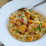 Make Ahead Monday: Baked Butternut Squash Risotto